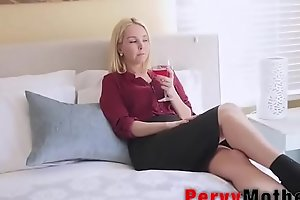 PervyMother.com: Supportive Mother Taking Care of Son