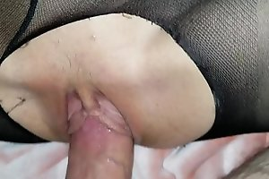 Sleeping little schoolgirl daughter gets awakened by daddy&#039_s dick and loves it!