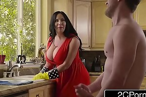 Chubby Busty Stepmom porn video Cum Cleaning - Sybil Stallone