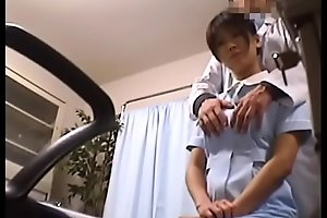 Japanese Voyeur Footage of Clumsy Nurses Water closet for Their Mistakes to a Dominant Dilute 1 [upload king]